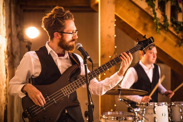 Cassien Wedding Function Band Glasgow Bass