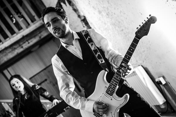 Cassien Wedding Function band Guitar BW